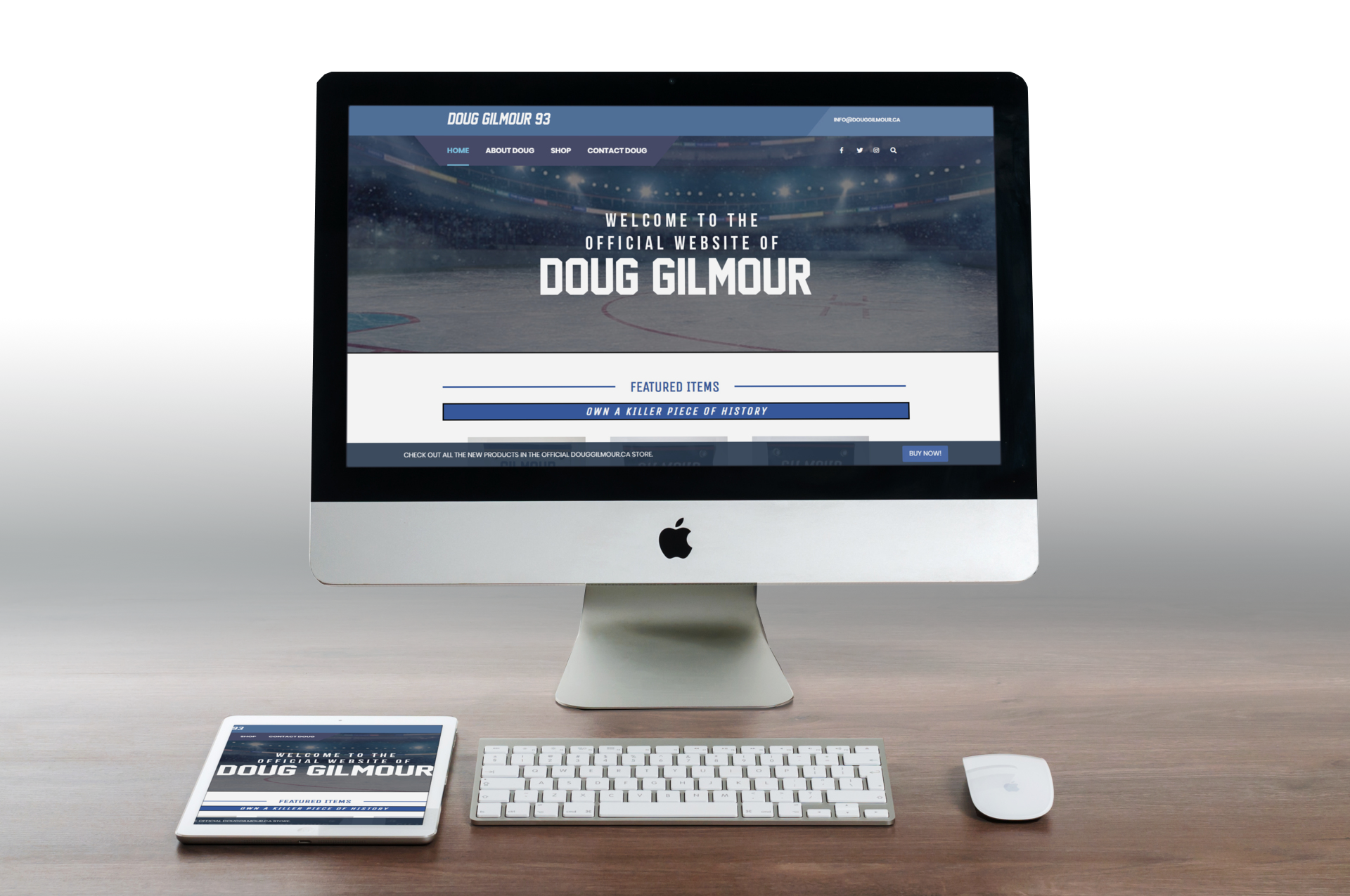 Doug Gilmour featured project image